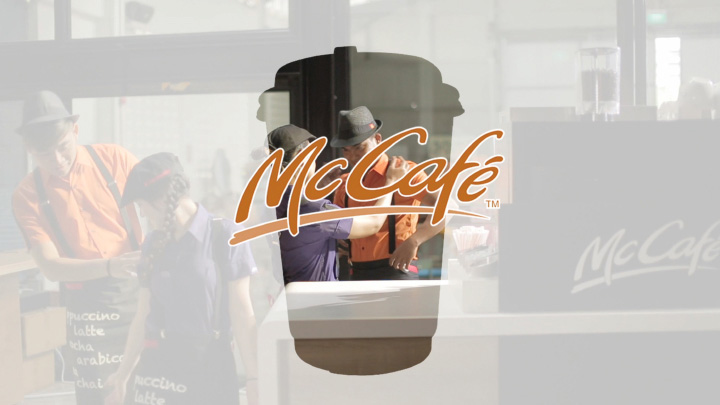 McDMcCafe - Every drink is a work of art, literally