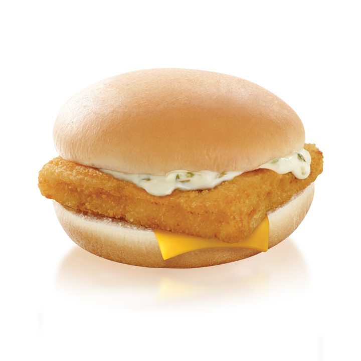 how many calories are in a fish sandwich from mcdonalds