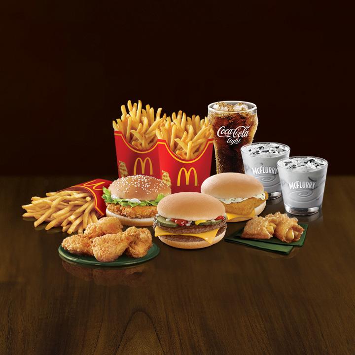 mcdonalds food waste management