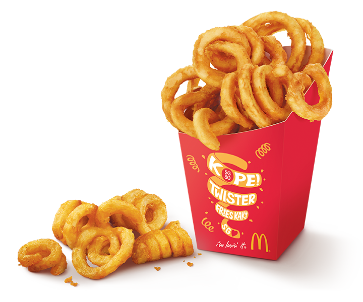 Twister fries mcdonalds singapore