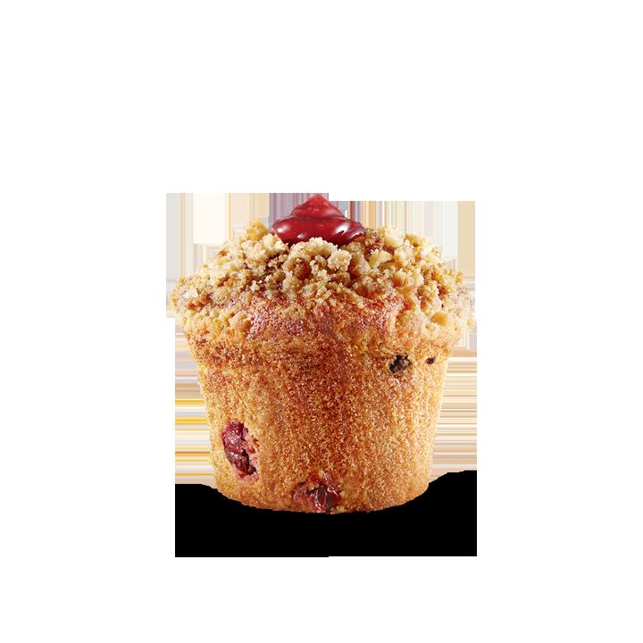 McDonald's Wildberry Cherry Muffin