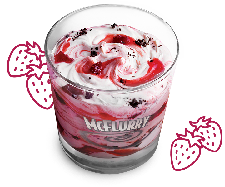 Strawberry Shortcake McFlurry®