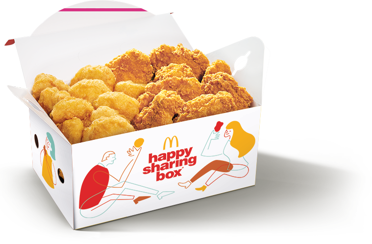 McDelivery: 50% off Happy Sharing Box® A with this code valid till 8 Nov 2020